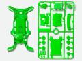 T95255 タミヤ AR蛍光カラーシャーシセット(グリーン)