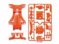 T95509 タミヤ FM-A蛍光カラーシャーシセット (オレンジ)