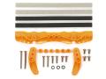 T95558 タミヤ ARシャーシ ブレーキセット (オレンジ)