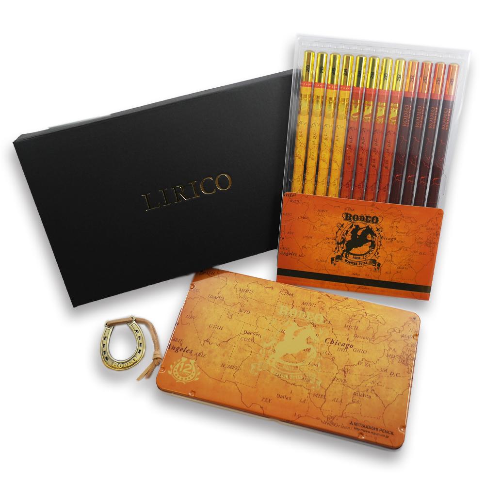 リリコ鉛筆&色鉛筆セット