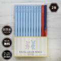 パステルカラー鉛筆(赤鉛筆+赤青鉛筆セット)