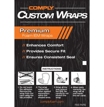 COMPLY (コンプライ) カスタムラップス 10ピース