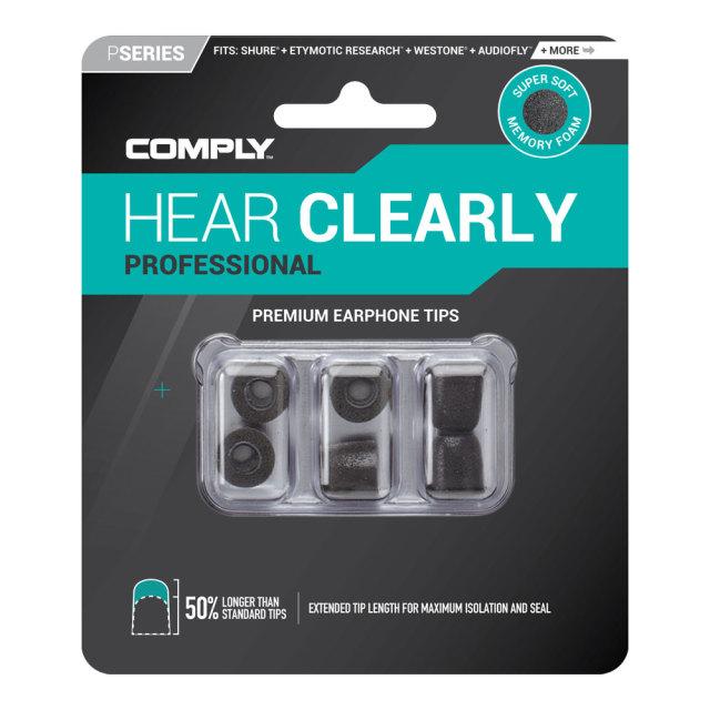 COMPLY (コンプライ) イヤホンチップ Pシリーズ 3ペア