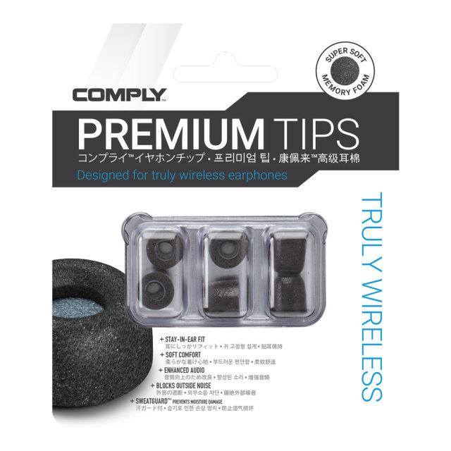 COMPLY(コンプライ)イヤホンチップ Tw(Truly Wireless)シリーズ 3ペア