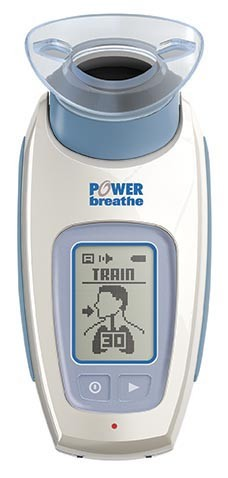 POWERbreathe (パワーブリーズ) KH2 医療用デジタル呼吸筋トレーナー