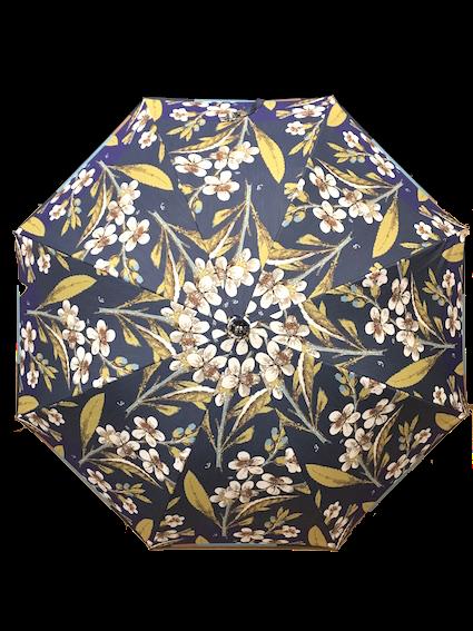 晴雨兼用 長・折 (裏 チタン加工) Flora Danica 1EP23019-19