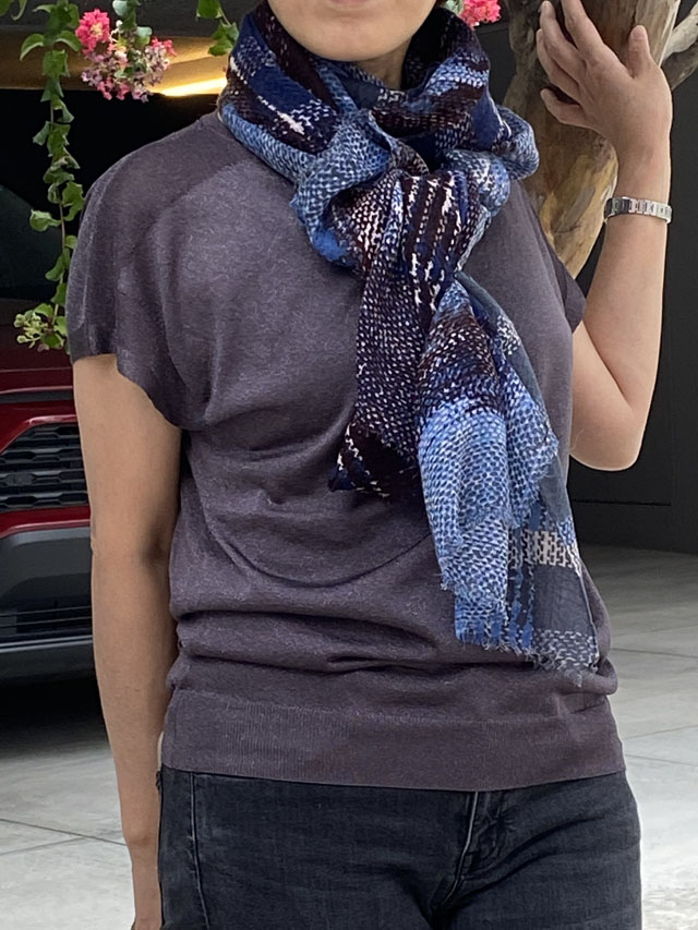 [CULTURE] JAMDANI & IKAT  デンマークの伝統衣装の織り柄  PW2055