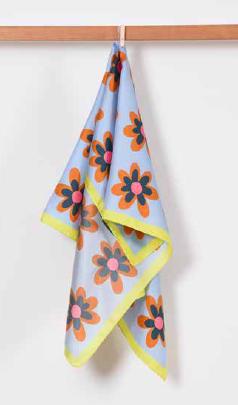 Hippie Flower ヒッピーフラワー シルクスカーフ LS1884