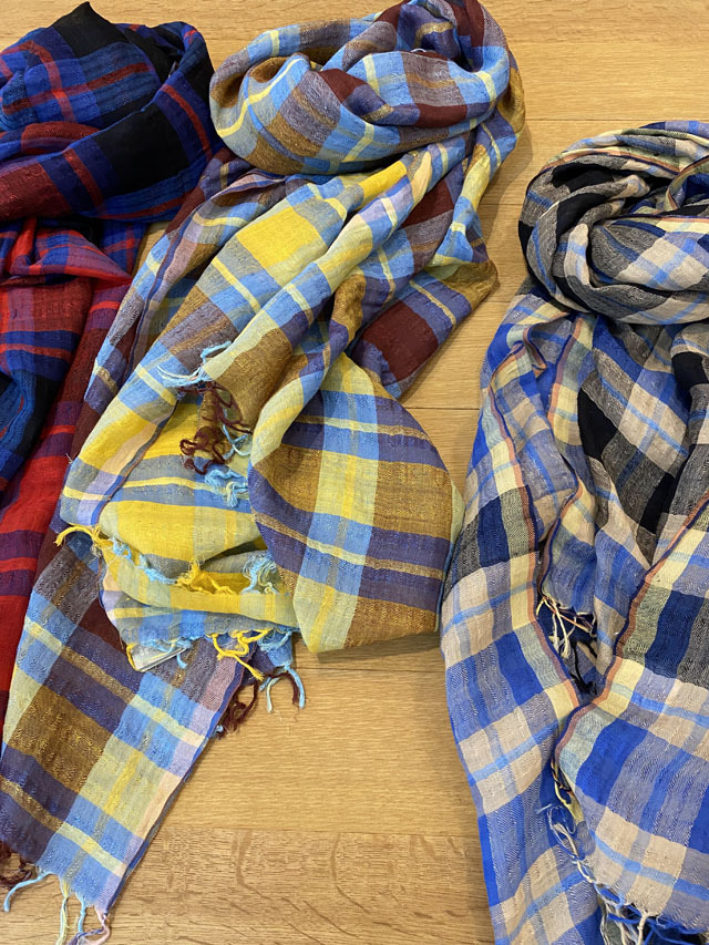 【CHECK】 Plaid Cloth of Masai マサイ族のチェック PS1541