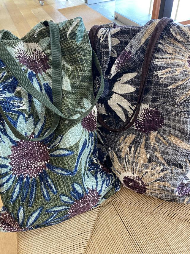 コットンバッグ 2WAYトートバッグ(小) 『クリムト - 9月の花園』 SUW2173-VARANASI-S