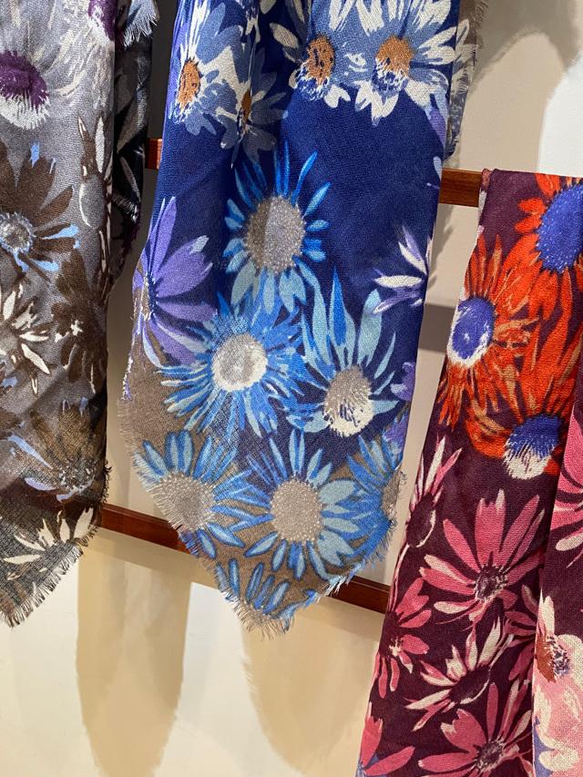 [FLOWER] KLIMT - SEPTEMBER GARDEN  クリムトの 『9月の花園』 *スクエア型90cm* SW2173