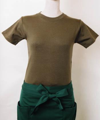 ヘビーウエイトTシャツ085‐CVTオリーブ