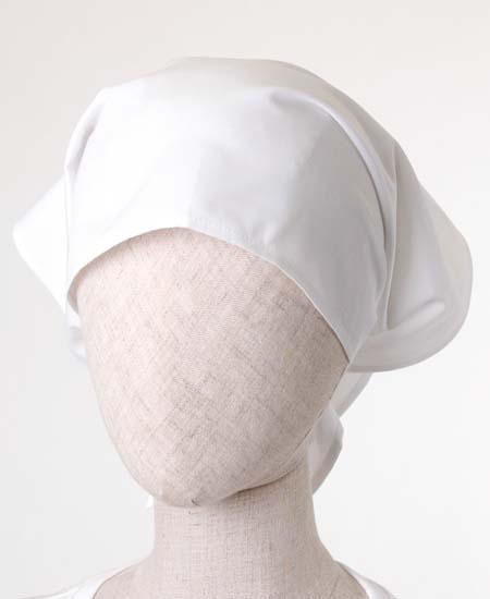給食三角巾PE-961ホワイト
