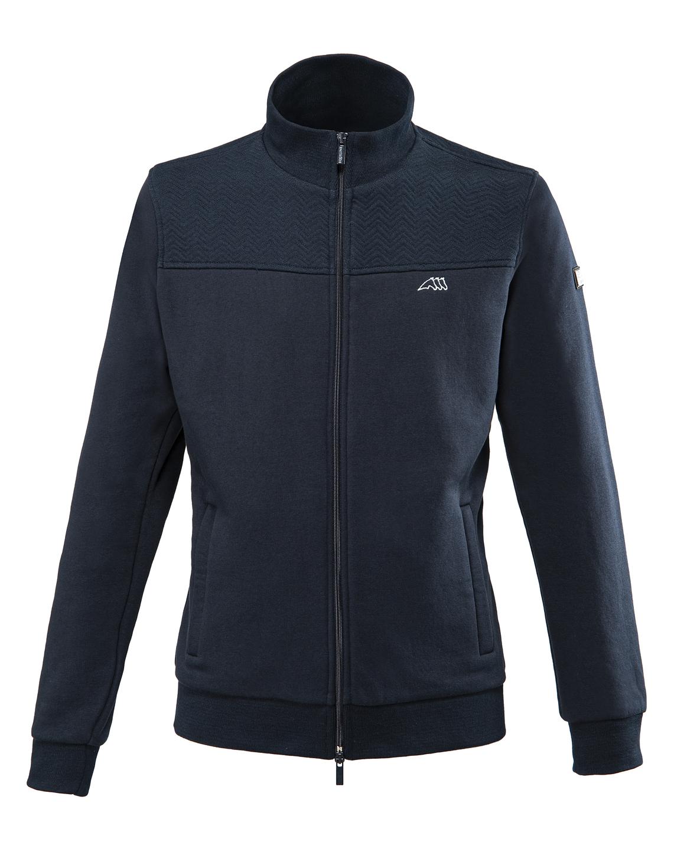 ● SALE!● EQUILINE・エクイライン メンズスエットジャケット(ネイビー/L)