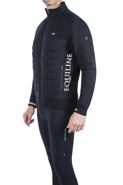 ● SALE!● EQUILINE SUMMER 2020 TEAM COLLECTION・エクイライン チームコレクション/メンズスエットジャケット