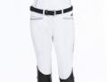 ◆ SALE!◆ EQUILINE Charlotte・エクイライン ジュニア用フルグリップキュロット(ホワイト/女の子用10-11)