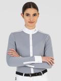 ● NEW!● EQUILINE CABEC・エクイライン レディース長袖競技用ポロシャツ