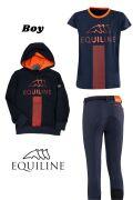 ◆ SALE!◆ EQUILINE ジュニア用ライディングウエア3点セット(エクイライン・男の子用/10-11)