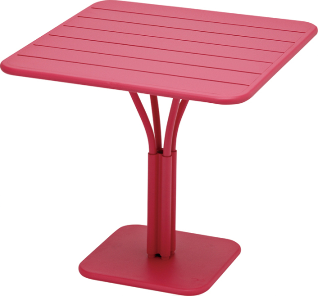 ルクセンブールテーブル80x80/25フーシャピンク