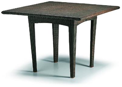 パナマダイニングテーブル100x100/ジャバ色