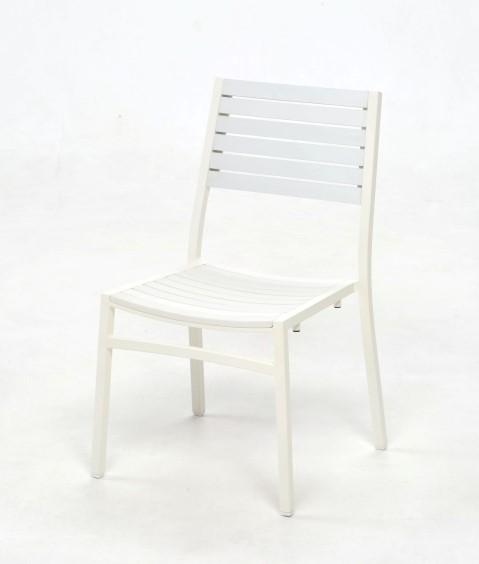 ソラスサイドチェア/ホワイト