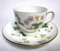 ウェッジウッド(Wedgwood)ワイルドストロベリー コーヒーカップ&ソーサー
