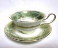 ウェッジウッド(Wedgwood)コロンビア セージグリーン ティーカップ&ソーサー