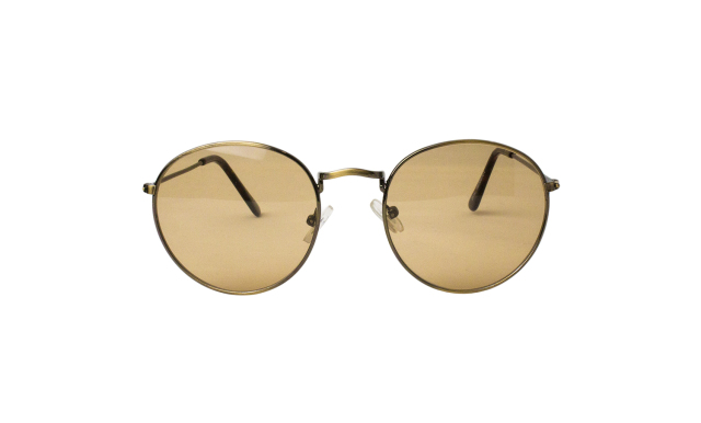ES025-1(Frame:Antique Gold/Lens:Light Brown)