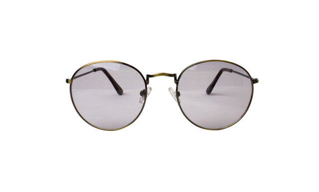 ES025-2(Frame:Antique Gold/Lens:Light Gray)