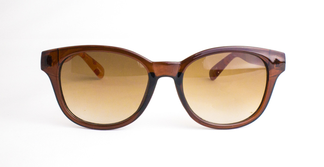 ES404-1(Frame:Clear Brown/Lens:Brown Gradation)