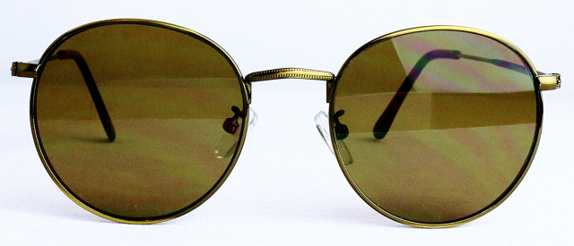 ES701-1(Frame:Antique Gold/Lens:Brown)