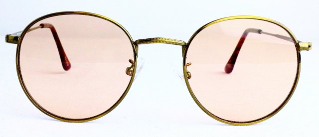 ES701-4(Frame:Antique Gold/Lens:Light Brown)