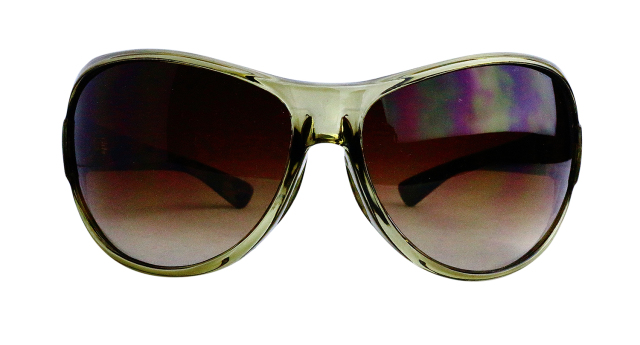 ES801-4(Frame:Clear Khaki/Lens:Brown)