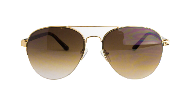 ES821-1(Frame:Gold/Lens:Brown Gradation)