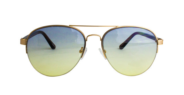 ES821-2(Frame:Gold/Lens:2 Color Gradation)