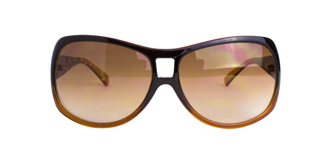 ES903-1(Frame:Brown Gradation/Lens:Brown Half)