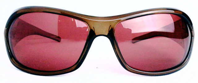 ESP204-1(Frame:Clear Brown/Lens:Red Brown偏光)