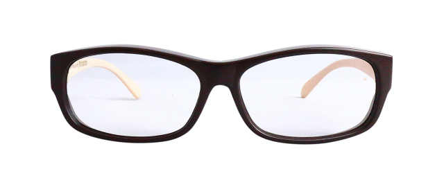 ESPF300-3(Frame:Matte Chocolate/Lens:Clear)
