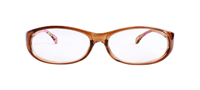 ESPF400-1(Frame:Clear Brown/Lens:Clear)