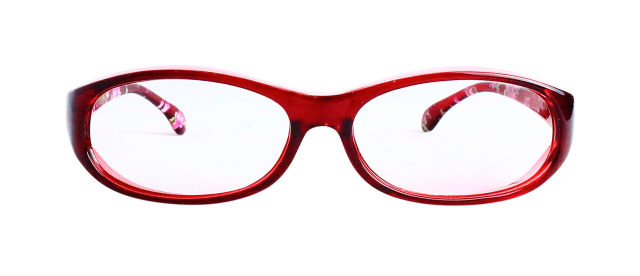 ESPF400-4(Frame:Clear Red/Lens:Clear)