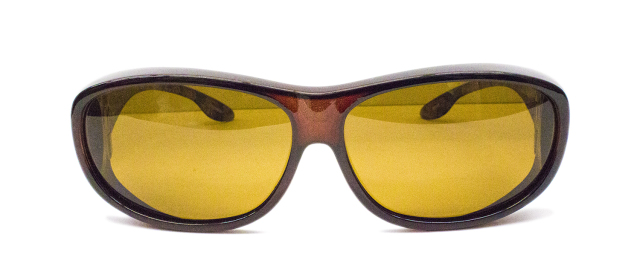Over Glass - ESPF600-1(Frame:Clear Brown/Lens:Brown偏光)