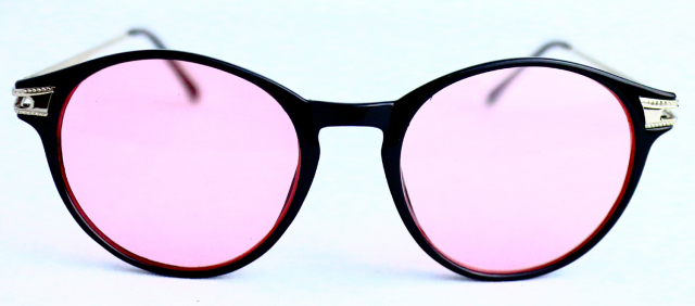 ESV050-1(Frame:Black/Lens:Light Pink)