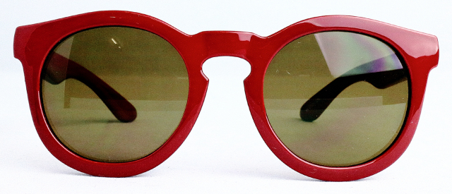NAHANNI(Front:Red/Lens:Brown)※ツヤあり