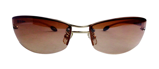 ES811-1(Frame:Gold/Lens:Brown)