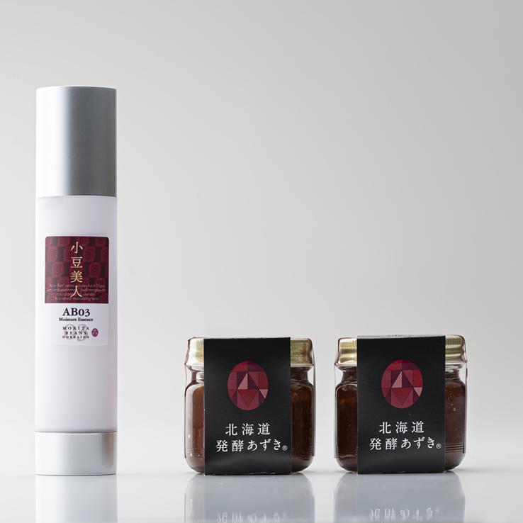 【送料無料】小豆美人モイスチャーエッセンス+発酵あずきセット(20%お得!)代引き不可 日時指定不可