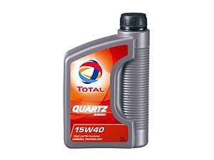 トタルオイル エンジンオイル クオーツ5000 15w40 1L /エターナル通販