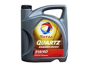 トタルオイル エンジンオイル クオーツエナジー9000 5w40 5L /エターナル通販