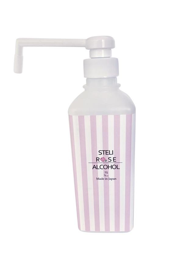 ステリローズ 中(500ml) 薔薇の香り包まれるアルコール除菌スプレー(消毒)