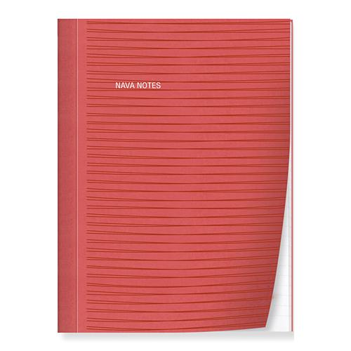 ナヴァ NAVA ノート NOTES A5 レッド 2001-NT-A5-014