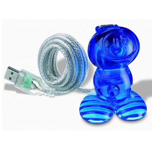 コジオル koziol USBステーション NEIL T.ブルー 2003-KZ5941-537